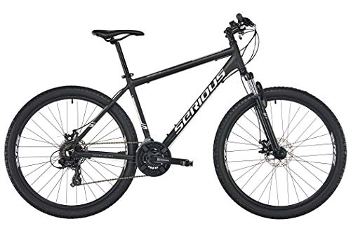 "SERIOUS Rockville 27,5"" Disc Black/Grey Rahmenhöhe 46cm 2019 MTB Hardtail"