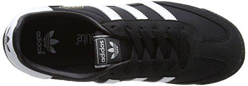 adidas Dragon Og, Baskets Basses Mixte Enfant Noir (Core Black/Ftwr White/Core Black)