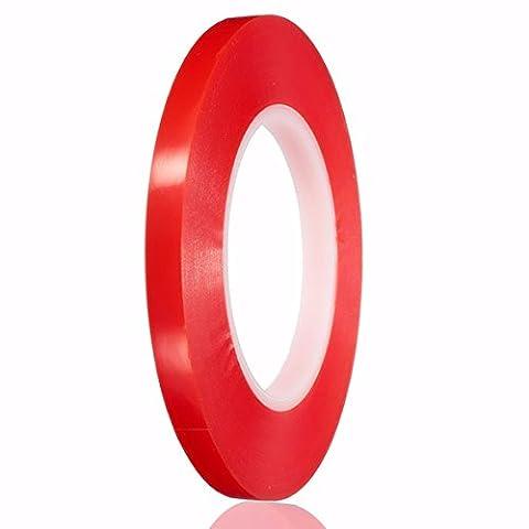 50m Doppel Seite Klebeband Starker Sticky Klebstoff für Handy Repair 2–10mm, E875