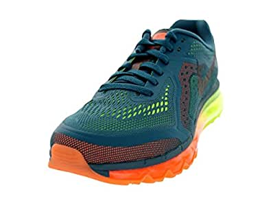 Nike Mens Air Max 2014 Running Shoes Night Factor/Blk/Atmc Orng/Vlt 11.5 D(M) US