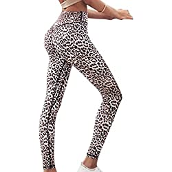 Mujeres Pantalones Deportes Fitness Yoga Damas Color Puro Cintura Alta Leggings Ajustados Elasticidad Slim Fit Sexy Pantalones Transpirables 5 Colores
