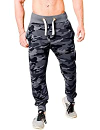WYO Wear Your Opinion WYO Men's Fleece Camouflage Track Pant Bottom Jogger