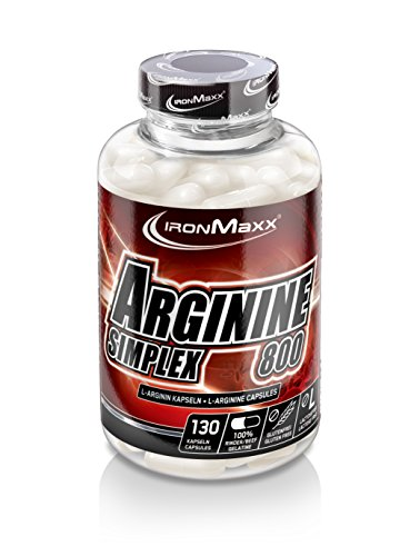 #Ironmaxx Arginin Simplex 800, 130 Kapseln#