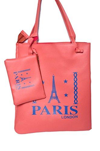 S&N Women's Handbags With Sling Bag Pink S&N-6