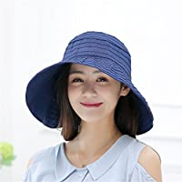 Peng sounded Moda Sombrero Femenino del Verano libremente Plegable versión de Han del Sombrero Sombrero del Sol Sombrero del Sol.