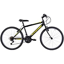 """Biocycle Anexo 24"""" Bicicleta de Montaña, Niños, Negro, S"""