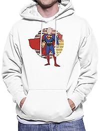 Superman One Punch Man Men's Hooded Sweatshirt
