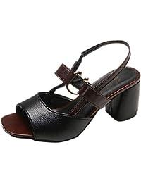 Sandalias De Las Mujeres, Resplend Tacones Moda Zapatos De Mujer Puntiagudos De La Boca Poco