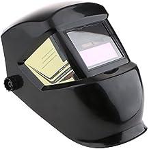 MagiDeal Máscara Soldador Solar Auto-oscurecimiento Din 3.5 Soldadura Casco Capucha Protección Para ...