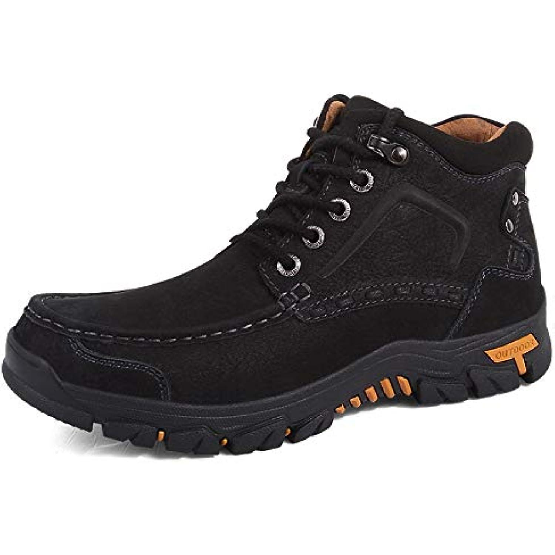 YLiansong Chaussures de Course de pour Homme Botte de Course Travail à la Cheville Tendance avec Semelle extérieure Chaude... - B07K2RCX1L - f25ae0