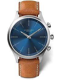 KRONABY SEKEL Connected Herren Uhren A1000-3124 eine traditionelle Uhr mit Smartwatch Funktionalitäten 41 mm Gehäusedurchmesser Saphirglas 100 Meter wasserdicht