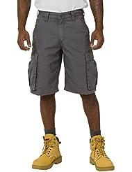 Carhartt Rugged Cargo Shorts - Gris Pantalones cortos hombres trabajo 100277 039 CS.100277.039