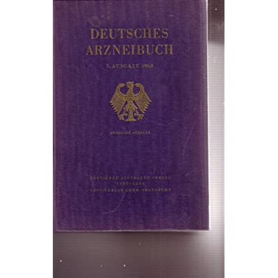 Deutsches Arzneibuch (DAB 9) PDF Download - GreerDavey