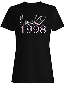 Nuevas princesas del diseño del arte nacen en 1998 camiseta de las mujeres b558f