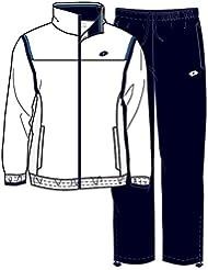 aydex–Chándal infantil Db B Blanco, color blanco/azul marino, tamaño M