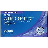 Air Optix Aqua Multifocal Monatslinsen weich, 6 Stück / BC 8.6 mm / DIA 14.2 mm / ADD HIGH / -4,75 Dioptrien