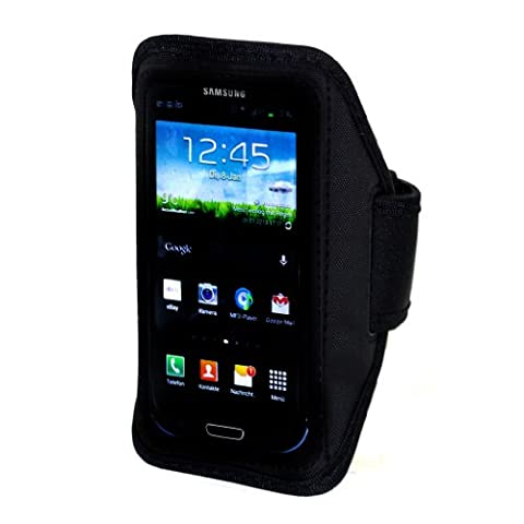 Samsung Galaxy S3 Neoprene Sports Armband Case for S3 arm pocket with velcro closure and white Perfect for the fitness / jogging