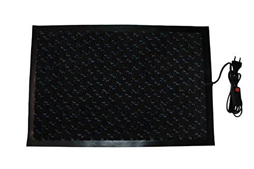 INROT Heiz Systeme, wasserdichte Teppichheizmatte 40 x 60cm, 60 W, - X-schwer Entflammbar Carbon
