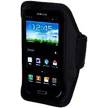 Samsung Galaxy S3 Neopren Sport-Tasche Sportarmband mit Klettverschluss für S3 Armtasche Weiss- ideal beim Sport / joggen etc.