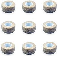 9er-Set Fingerverband | Pflasterverband | Pflaster ohne Kleber - in HAUTFARBEN - 2,5cm x 4,5m - elastisch, wasserabweisend... preisvergleich bei billige-tabletten.eu