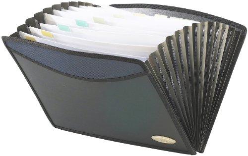 Xcase Ordner: Dokumentenmappe mit 13 Fächern YP-OTA4-12 (Fächermappen)