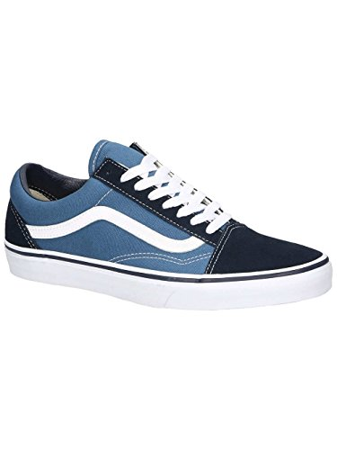 low priced 97b93 a64a6 Vans Unisex Old Skool Canvas Lace-Up Trainer Navy-Navy-4 Size 4