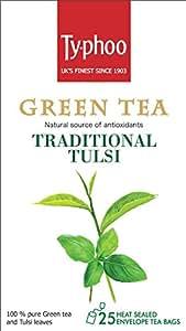 Typhoo Green Tea Tulsi (25 Tea Bags)