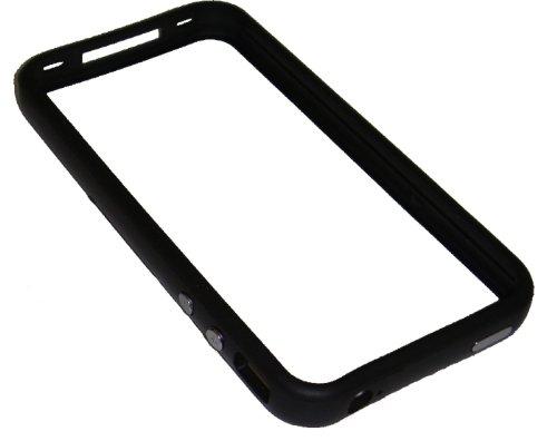Xcessor Bumper Schutzhülle Für Apple iPhone 4 schwarz schwarz