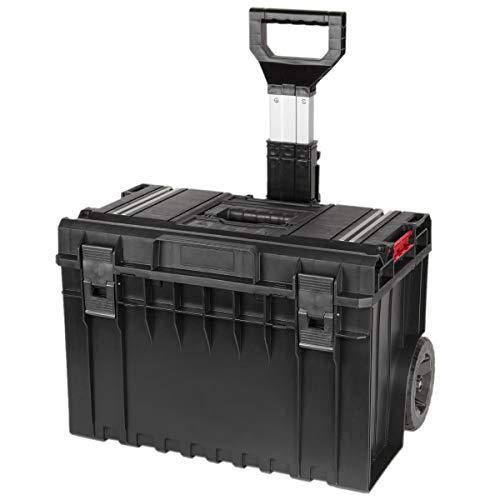 Werkzeugkoffer Rollbar 55 Liter Tragfähigkeit 50 kg Werkstattkoffer Rollkoffer