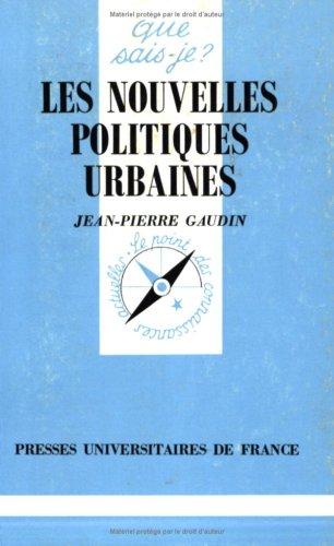 Les Nouvelles Politiques urbaines