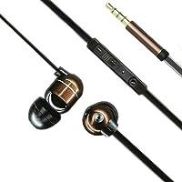 Vivanco METALIST Talk Aircoustic - Auriculares in-ear con micrófono (108 dB, clavija