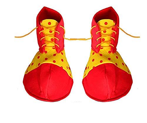MATISSA Disfraces de Payaso para Adultos Disfraz de Payaso para Hombre y Mujer (Zapatos de Payaso)
