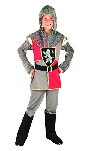 82136 - Tapferer Ritter, grau (Edle König Erwachsenen Kostüme)