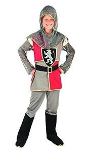 Boland 82138-Niños tapferer Disfraz de Caballero, Gris