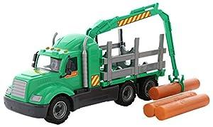 Polesie Polesie55644 Mike - Camión de Madera con Caja
