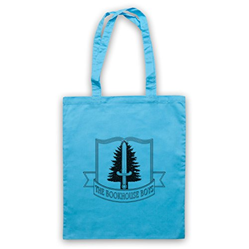 Inspiriert durch Twin Peaks Bookhouse Boys Club Inoffiziell Umhangetaschen Hellblau