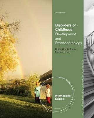 [Disorders of Childhood: Development and Psychopathology] (By: Michael Troy) [published: March, 2013]