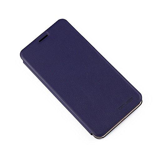 Handyhülle für Doogee Y6/Doogee Y6C 95street Schutzhülle Book Case für Doogee Y6, Hülle Klapphülle Tasche im Retro Design mit Praktischer Aufstellfunktion - Etui Blau