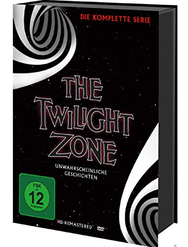 The Twilight Zone - Die komplette TV-Serie - 30 DVD Box (Dvd Twilight Filme)
