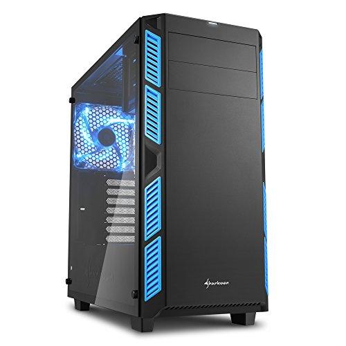 Sharkoon AI7000 Glass PC-Gehäuse blau