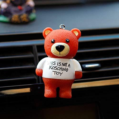 SIOJB Deodorante per Auto Teddy Bear Presa d'Aria Profumo Clip Automobile Interni Bambola Profumo Diffusore Diffusore Accessori Auto Porta-Regali Orso