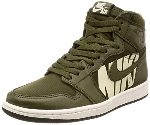 AIR Jordan 1 Retro HIGH OG 'Olive Canvas' - 555088-300 - Size 42.5-EU