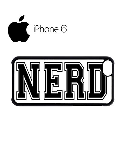 Nerd Cool Dope Funny Swag Mobile Phone Case Back Cover Hülle Weiß Schwarz for iPhone 6 White Weiß
