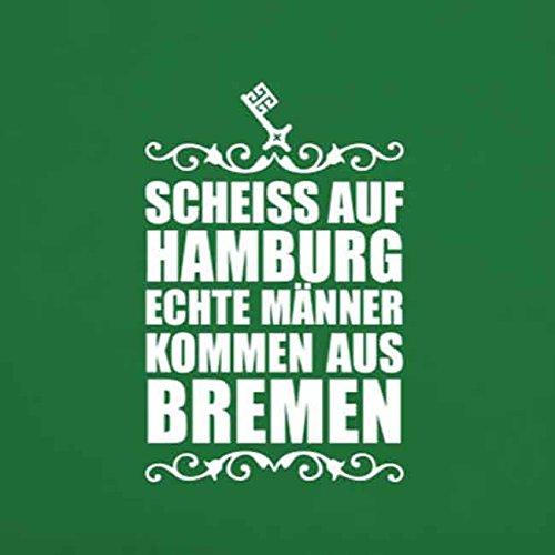 Scheiss auf Hamburg - Stofftasche / Beutel Grau