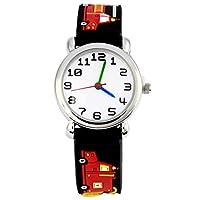 Mixe Waterproof 3D Cute Cartoon Digital Silicone Wristwatches Time Teacher Gift for Little Girls Boys Kids Children ME258