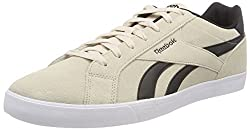 Reebok Mens Royal Complete 2ls Gymnastics Shoes Beige (Stucco/Black/White Stucco/Black/White) 7.5 U