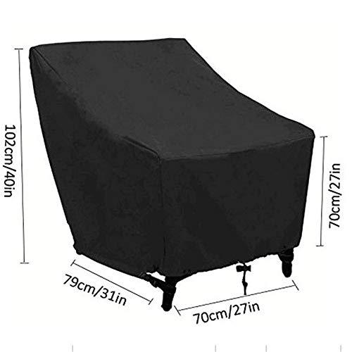 Möbelsets Gartenmöbel Sitzgruppe Abdeckhaube für Abdeckung Gartenmöbel Zugkordel und Befestigungsclips für(70x79x102cm)