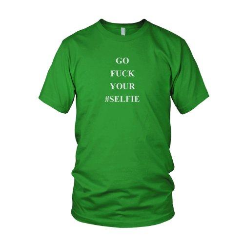 Go Fuck your Selfie - Herren T-Shirt Grün