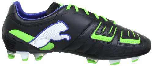 Scarpette Da Calcio Mens Puma Powercat 2 Fg 102783 Nere (nero-verde Jasmine-monac 01)