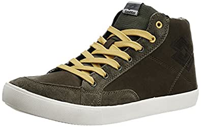 Lotto Men's Sixtyeight mid Leaf and Thyme Tennis Shoes - 10 UK/India (44 EU)